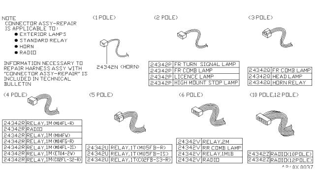 1995 nissan pathfinder wiring nissan parts deal 1995 nissan pathfinder wiring nissan