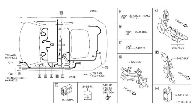 2003 Nissan 350z Wiring Nissan Parts Deal