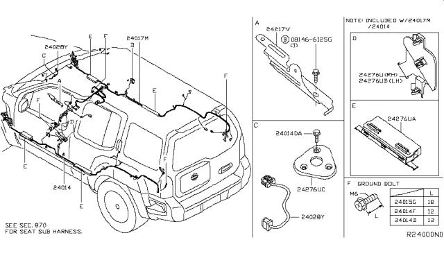 2010 Nissan Xterra Wiring Nissan Parts Deal