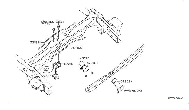 Genuine Nissan Clip 01553-0077U
