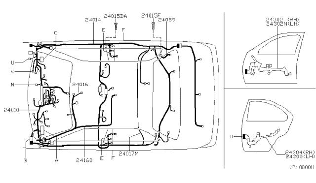Wiring 2000 Nissan Sentra, 2000 Nissan Sentra Wiring Diagram