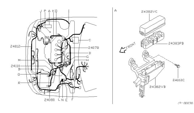 2001 Nissan Sentra Wiring Nissan Parts Deal