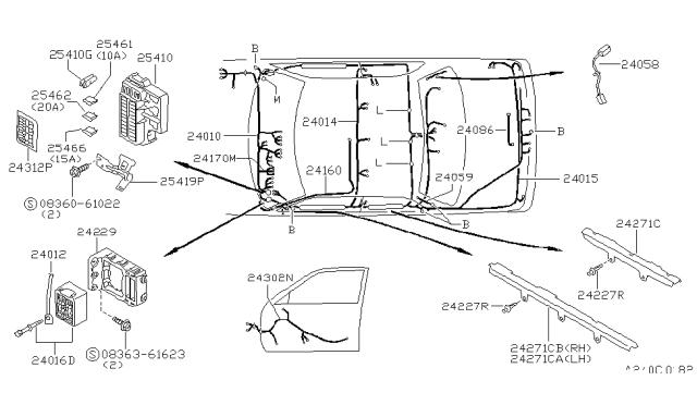 1994 Nissan Sentra Wiring Nissan Parts Deal