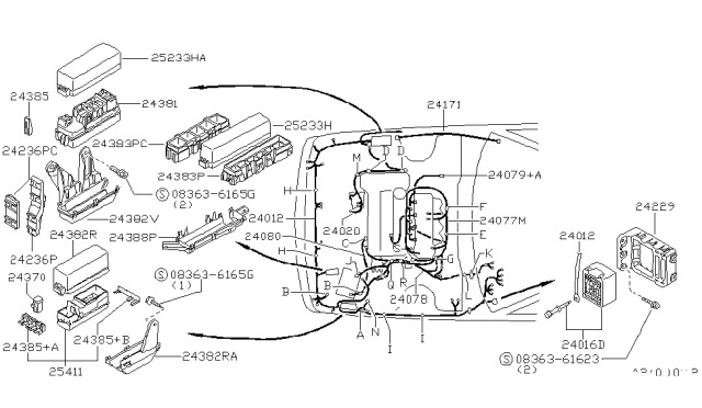 1994 Nissan Sentra Wiring Nissan Parts Deal