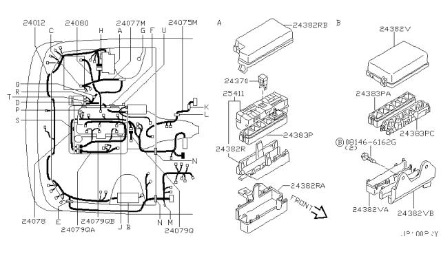 2002 Nissan Pathfinder Wiring Nissan Parts Deal