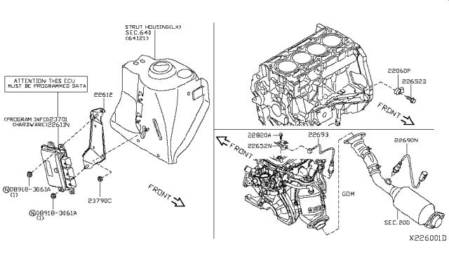 2013 Nissan Versa Sedan Engine Control Module Nissan Parts Deal