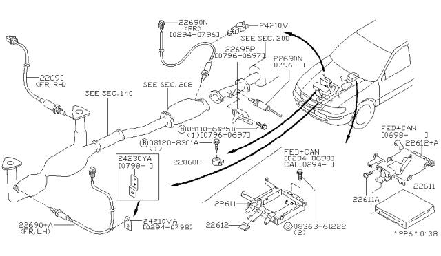 1995 Nissan Maxima Engine Control Module Nissan Parts Deal