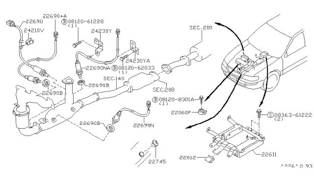 1999 Nissan Maxima Engine Control Module Nissan Parts Deal
