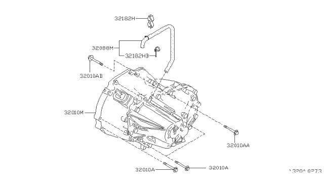 1999 Nissan Maxima Manual Transmission Transaxle Fitting