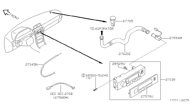 1996 Nissan Maxima Control Unit Nissan Parts Deal