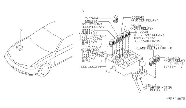 1995 Nissan 240SX Relay - Nissan Parts DealNissan Parts
