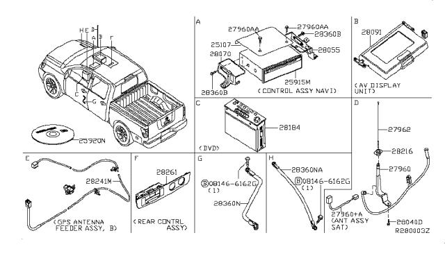 2005 Nissan Titan Audio & Visual - Nissan Parts DealNissan Parts