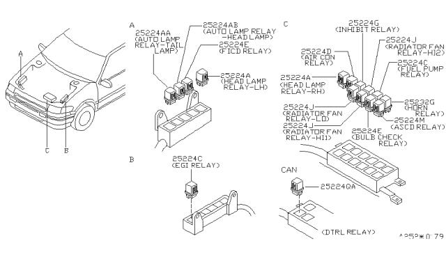 [SCHEMATICS_48IS]  1994 Nissan Quest Relay - Nissan Parts Deal | 94 Nissan Quest Fuel Filter |  | Genuine Nissan Parts