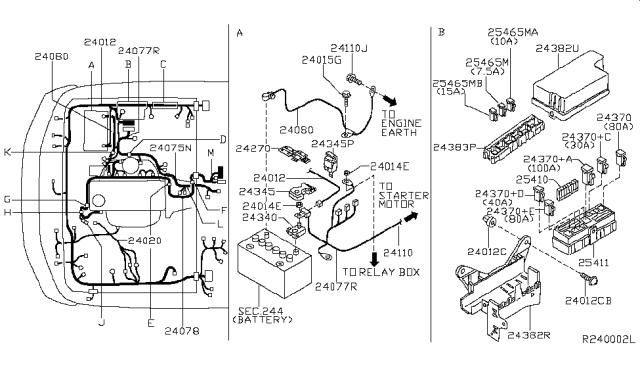Nissan Xterra Wiring Harness Diagram Wiring Diagram View A View A Zaafran It