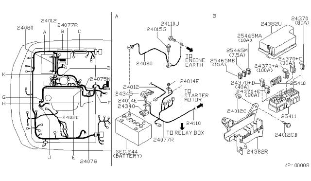 2001 Nissan Xterra Wiring Nissan Parts Deal