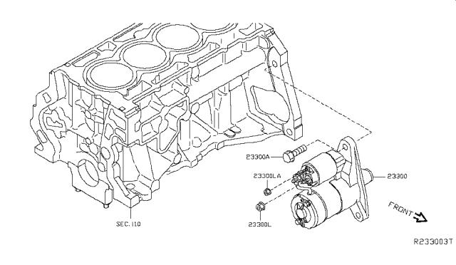 2014 Nissan Sentra Starter Motor - Nissan Parts DealNissan Parts