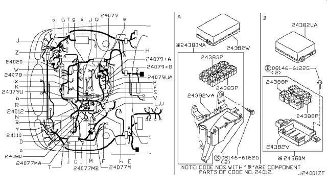 2001 nissan maxima wiring harness  center wiring diagram