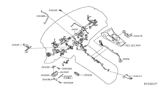[WLLP_2054]   2016 Nissan Maxima Wiring - Nissan Parts Deal | 2016 Nissan Maxima Wiring Diagram |  | Genuine Nissan Parts