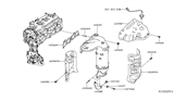 Related Parts for Nissan Murano Catalytic Converter - 140E2-3KL0A