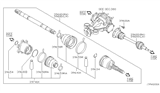 Related Parts for Nissan Pathfinder Drive Shaft - 39600-EA000