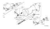 Related Parts for Nissan Pathfinder Drive Shaft - 37300-EA500