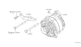 Related Parts for Nissan Frontier Alternator - 23100-EA201