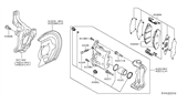 Related Parts for Nissan Leaf Brake Pad Set - D1060-5TA0A