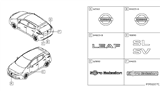 Related Parts for Nissan Quest Emblem - 90890-JX00A