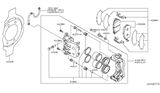 2013 Nissan Murano Front Brake Diagram 2