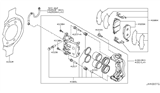 2013 Nissan Murano Front Brake Diagram 3