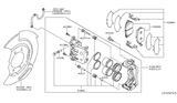 2013 Nissan Murano Front Brake Diagram 1