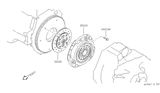 Related Parts for Nissan 200SX Clutch Disc - 30100-53J14