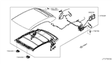 Related Parts for Nissan Murano Front Door Striker - 97083-1GR0A