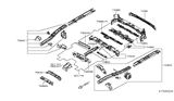 Related Parts for Nissan NV Rear Crossmember - G5650-3LMMC