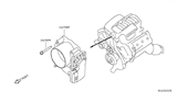 Diagram for Nissan Frontier Throttle Body - 16119-7S00A