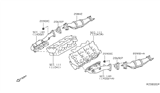 Diagram for Nissan Catalytic Converter - 208A2-EA21B