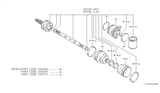 Related Parts for Nissan Datsun 310 CV Joint - 39126-M7225