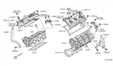 Diagram for Nissan Valve Cover Gasket - 13270-8J112