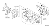 Related Parts for Nissan Leaf Brake Pad Set - D1M60-CY70B