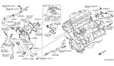 Diagram for Nissan Armada Thermostat Housing - 13048-7S000