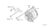 Related Parts for Nissan Frontier Alternator - 23100-EA20B