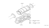 Related Parts for 1979 Nissan 200SX Catalytic Converter - 20802-P8110