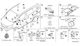 Related Parts for Nissan NV Antenna - 28590-EL00A