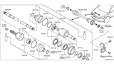 Related Parts for Nissan CV Boot - C9741-CC20A
