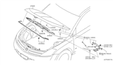 Related Parts for Nissan Murano Lift Support - 65471-CB800