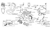 Related Parts for Nissan Seat Switch - 87066-1AB0A