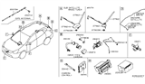 Related Parts for Nissan Rogue Antenna - 28208-5HA0B