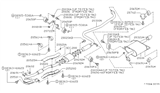 Diagram for Nissan Exhaust Pipe - 20010-5B800