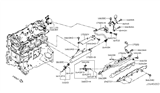 Diagram for Nissan Fuel Pressure Sensor - 16638-1TT0A