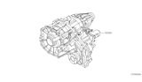 Related Parts for Nissan Transfer Case - 33100-EA310